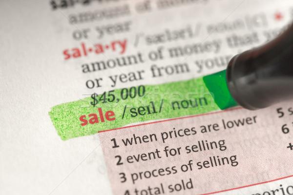 販売 定義 緑 辞書 教育 赤 ストックフォト © wavebreak_media
