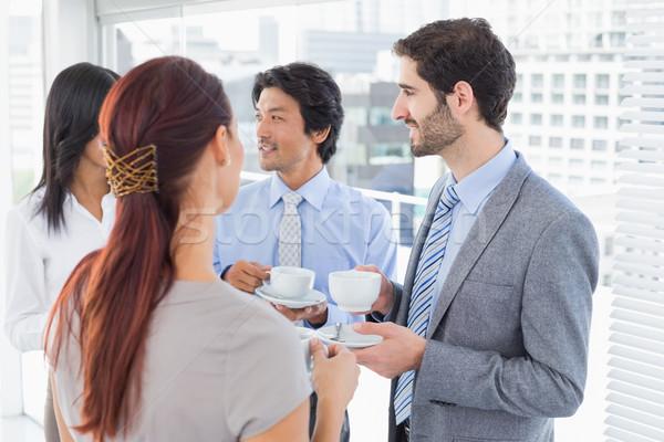 ビジネスチーム ドリンク オフィス 食品 コーヒー ストックフォト © wavebreak_media