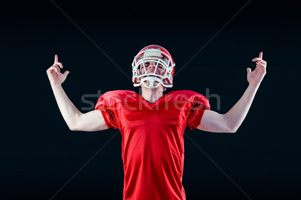 A triumph of an american football player  Stock photo © wavebreak_media