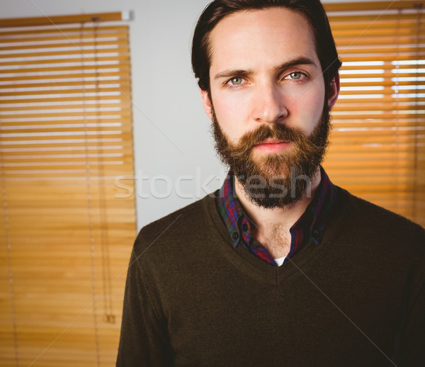 Hipster businessman frowning at camera Stock photo © wavebreak_media