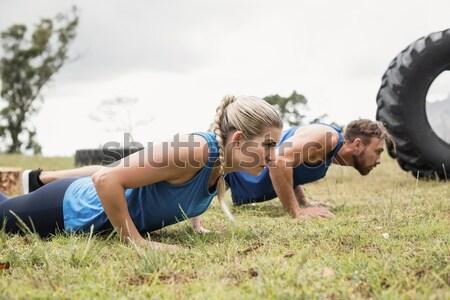 Ver homem bola jogar rugby Foto stock © wavebreak_media