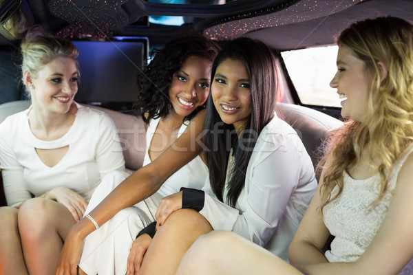 Well dressed women in a limousine Stock photo © wavebreak_media