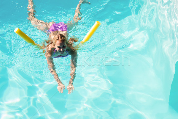 Woman swimming in swimming pool Stock photo © wavebreak_media