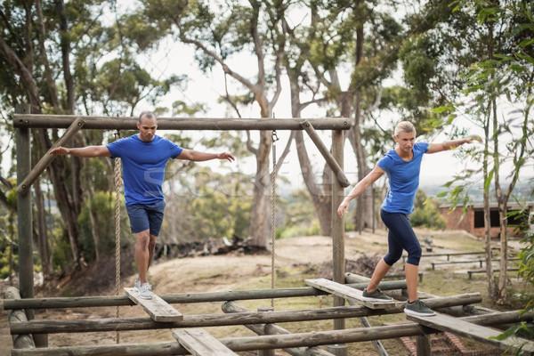 S'adapter homme femme formation fitness Photo stock © wavebreak_media