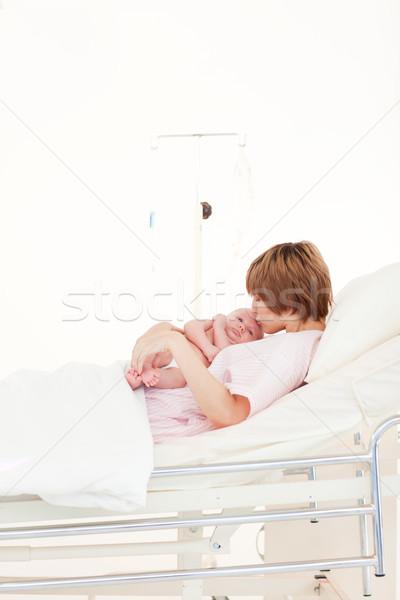Mother with her newborn baby Stock photo © wavebreak_media