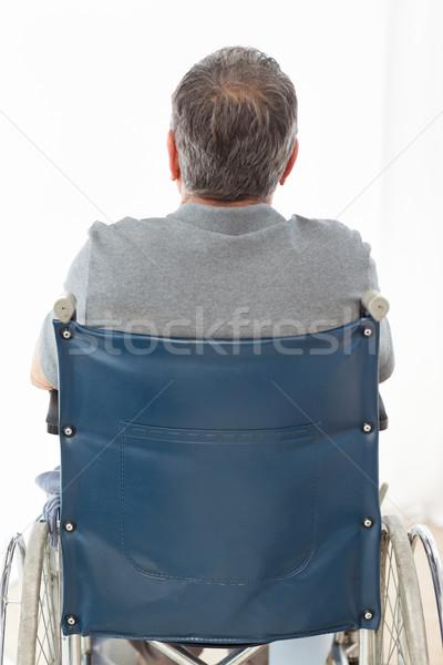 Dojrzały mężczyzna wózek powrót domu medycznych Zdjęcia stock © wavebreak_media