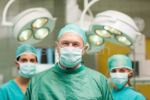 外科医 ポーズ 2 女性 後ろ 外科的な ストックフォト © wavebreak_media
