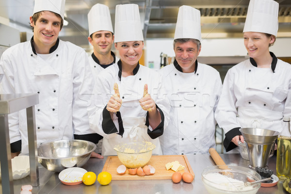 Culinaire classe enseignants cuisine Photo stock © wavebreak_media