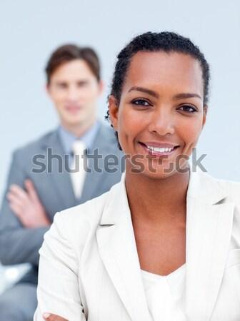 Patente escala paciente médico sonriendo atención Foto stock © wavebreak_media