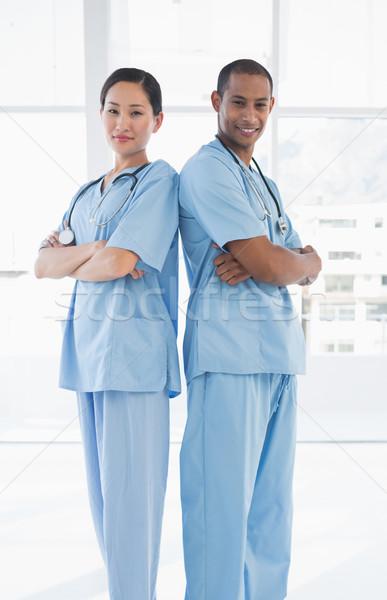外科医 立って 病院 肖像 2 オフィス ストックフォト © wavebreak_media
