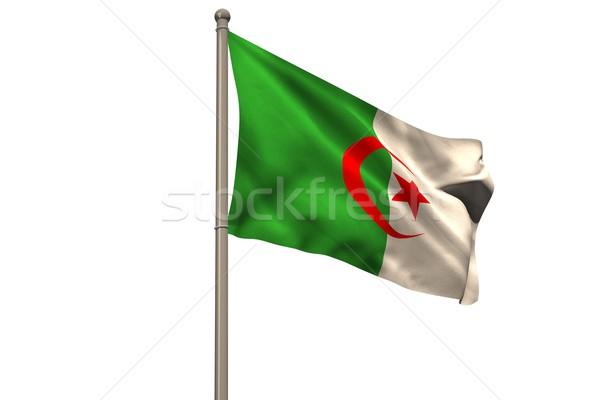 Digitalmente generado Argelia bandera blanco Foto stock © wavebreak_media