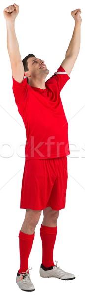 Eccitato bianco uomo felice Foto d'archivio © wavebreak_media