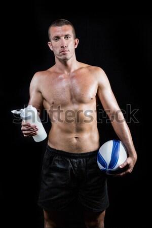 Musculação para cima preto Foto stock © wavebreak_media