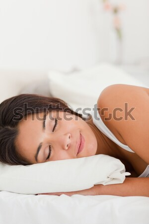 Adorable baby boy sleeping peacefully Stock photo © wavebreak_media