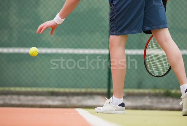 小さな スポーツ フィットネス 訓練 ストックフォト © wavebreak_media