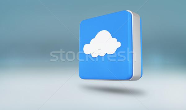 Composite image of cloud computing tile Stock photo © wavebreak_media