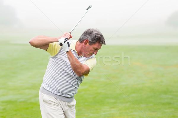 Golfista club giorno campo da golf sport Foto d'archivio © wavebreak_media