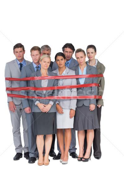 動揺 ビジネスチーム 白 女性 ビジネスの方々 ストックフォト © wavebreak_media