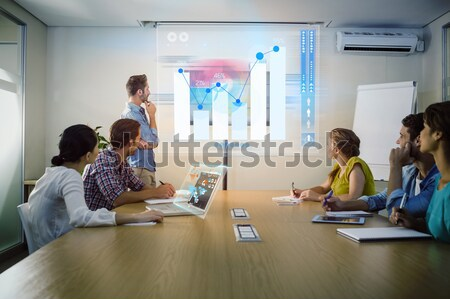 Composite image of business interface Stock photo © wavebreak_media