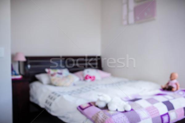 Ansicht Schlafzimmer home Haus Sonne Stock Stock foto © wavebreak_media