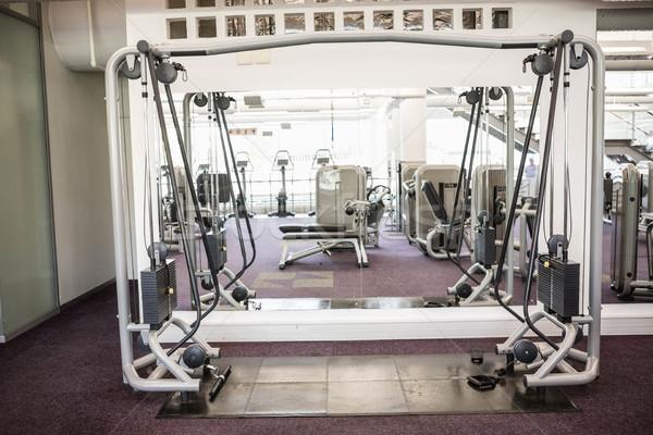 Gym with no people Stock photo © wavebreak_media
