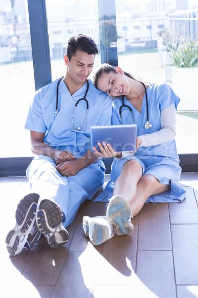 Medical team interacting using digital Stock photo © wavebreak_media