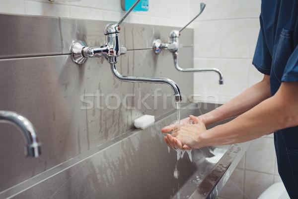 女性 外科医 洗濯 手 病院 ストックフォト © wavebreak_media