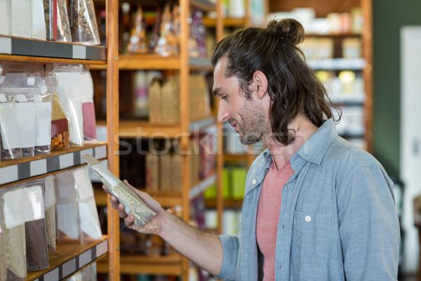 Man shopping for groceries  Stock photo © wavebreak_media