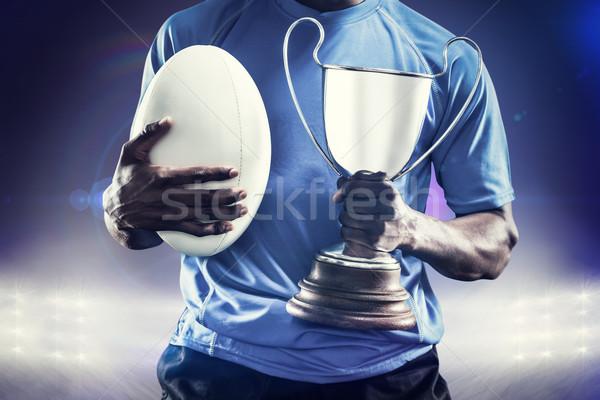изображение спортсмен трофей Сток-фото © wavebreak_media