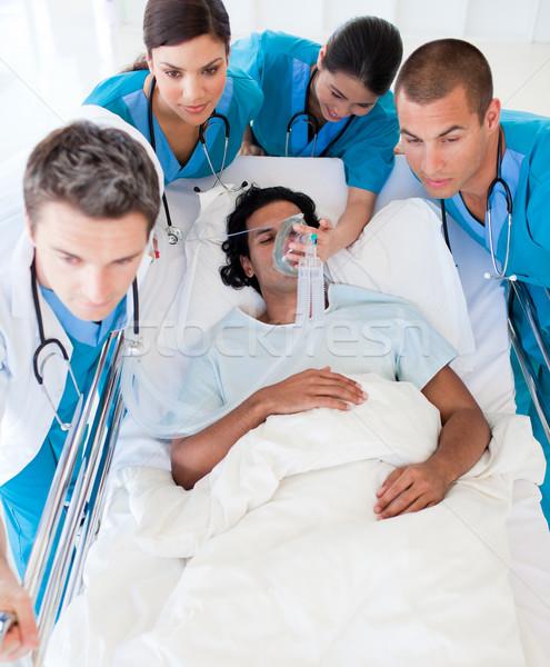 медицинской команда пациент интенсивный ухода Сток-фото © wavebreak_media