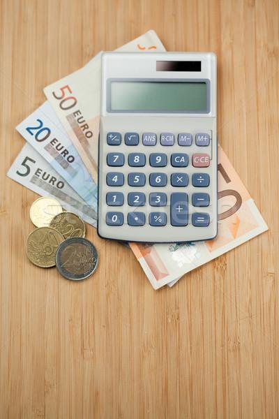 Money and pocket calculator Stock photo © wavebreak_media