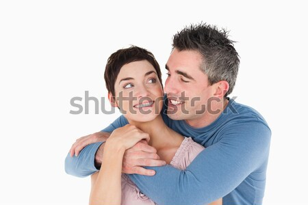 Człowiek biały człowiek biały miłości para Zdjęcia stock © wavebreak_media