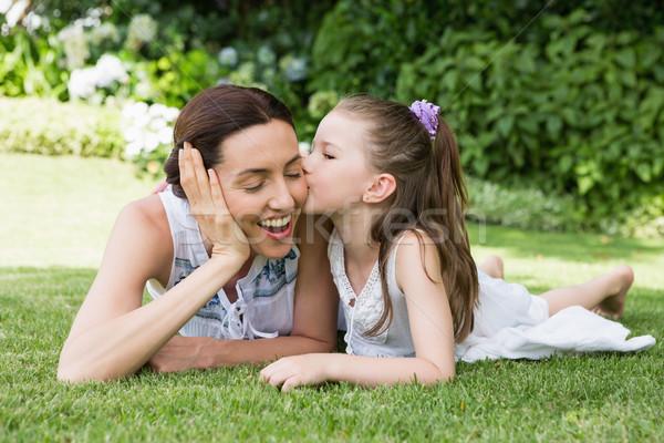 Mother and daughter spending time Stock photo © wavebreak_media