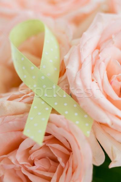 Lint rozen roze steeg teken Stockfoto © wavebreak_media