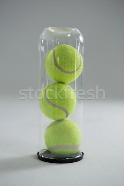 Tennisbal plastic fles witte business Stockfoto © wavebreak_media
