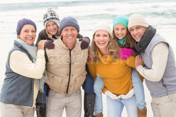 Multi generation family all together Stock photo © wavebreak_media