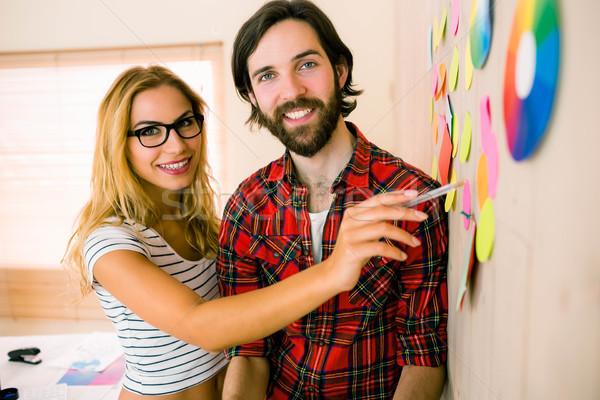 Creative team brainstorming together Stock photo © wavebreak_media