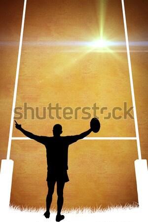 Friends playing beach volleyball Stock photo © wavebreak_media
