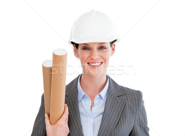 Portrait of a smiling female architect Stock photo © wavebreak_media