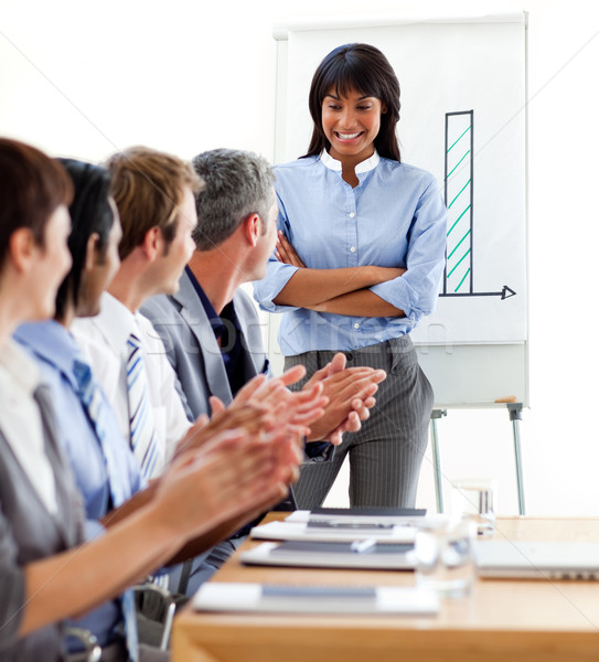 Business internazionale persone bene presentazione bianco Foto d'archivio © wavebreak_media