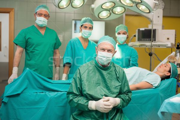 外科的な チーム 周りに 患者 ルーム 男 ストックフォト © wavebreak_media