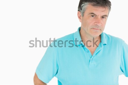 Angry looking older man Stock photo © wavebreak_media