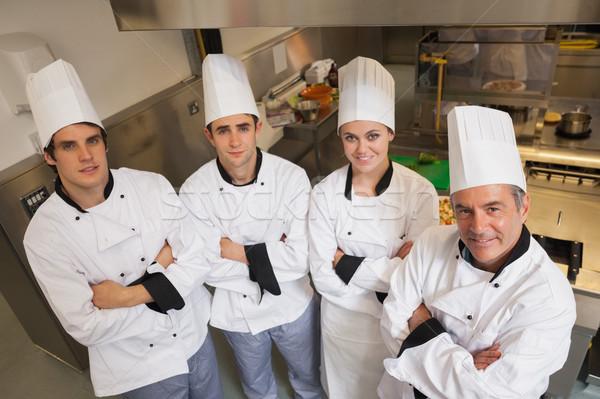 команда Повара Постоянный кухне работу ресторан Сток-фото © wavebreak_media