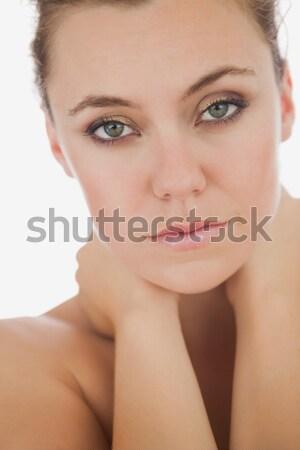 Mulher sofrimento retrato mulher jovem cara Foto stock © wavebreak_media