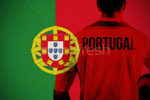 Imagen Portugal futbolista pelota Foto stock © wavebreak_media