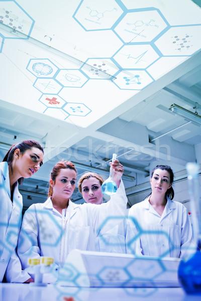 Imagem médico interface bonitinho química Foto stock © wavebreak_media