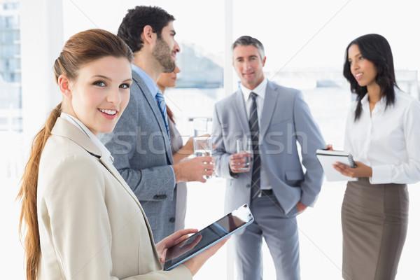 Business team having some drinks Stock photo © wavebreak_media