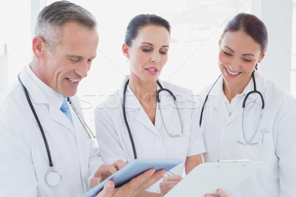 Doctors standing beside each other Stock photo © wavebreak_media
