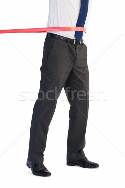 Biznesmen line biały człowiek Zdjęcia stock © wavebreak_media