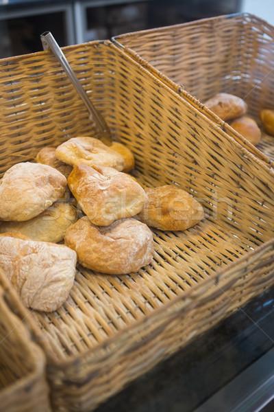 Szczypce piekarni restauracji chleba Kafejka Zdjęcia stock © wavebreak_media
